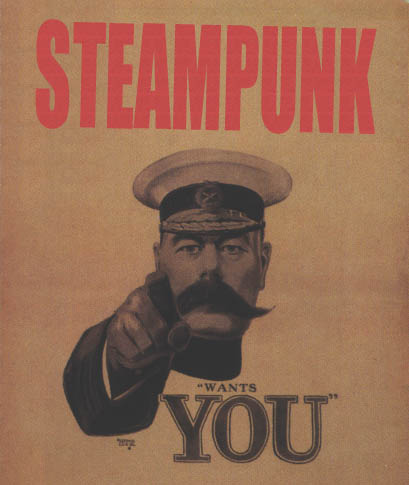 Steampunk wants you